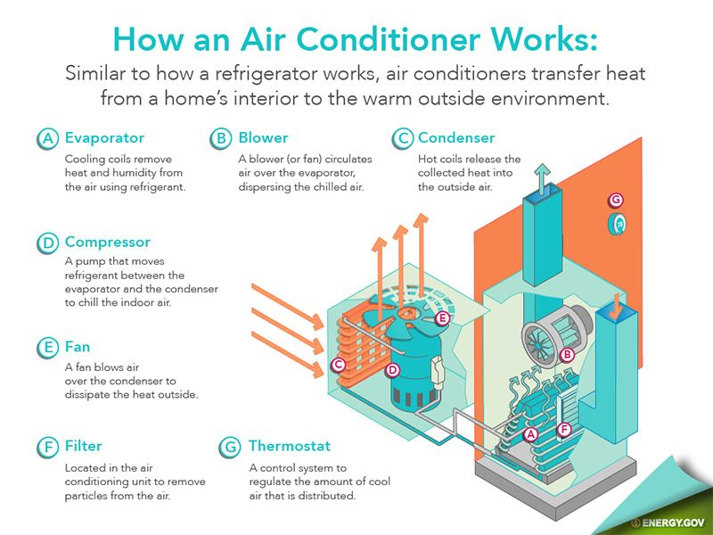 Swamp Cooler vs Air Conditioner, Which One is Better - Air Conditioner Infographic