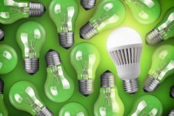 energy efficient LED bulbs